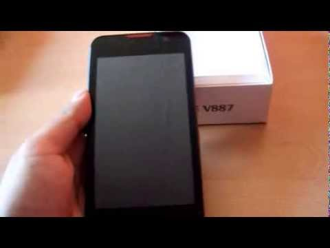 Unboxing ZTE V887 Chile