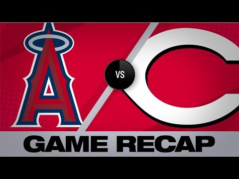 Video: Castillo twirls gem in win over Angels | Angels-Reds Game Highlights 8/5/19