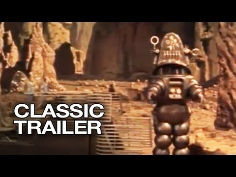 Forbidden Planet Official Trailer #1 - Leslie Nielsen Movie (1956) HD