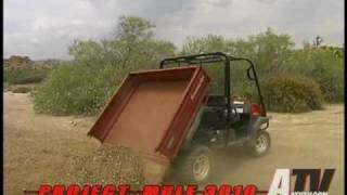 2. ATV Television - 2003 Kawasaki Mule 3010 4x4 Modifications