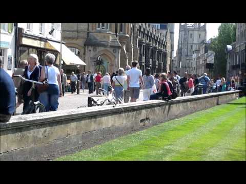 cambridge - University town of Cambridge (United Kingdom) in the summer created by Alexander Steinforth music: Ella Fitzgerald and Louis Armstrong: They Can't Take That ...