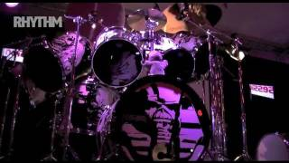 During the recent German leg of Premier's 'Evening with Nicko' Nicko McBrain shows we set up a camera to capture his 11-piece beast being set-up. We also too...