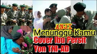 Video ANJI-Menunggu Kamu (Lyric Video) Ost Ibu Persit YON TNI-AD MP3, 3GP, MP4, WEBM, AVI, FLV Juni 2018