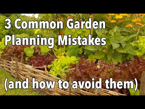 3 common garden planning mistakes and how to avoid them for Show me garden designs
