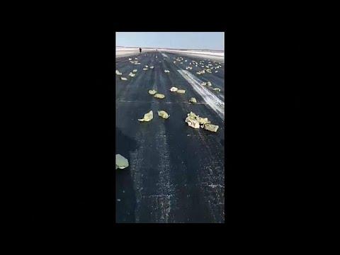 Βίντεο: 3,5 τόνοι χρυσού έπεσαν από αεροπλάνο την ώρα της απογείωσης!…
