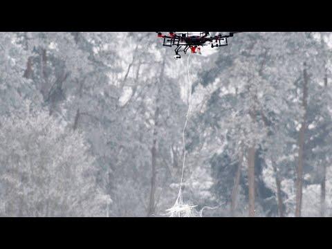 Bundeswehr zeigt Abwehrsystem für Flugdrohnen