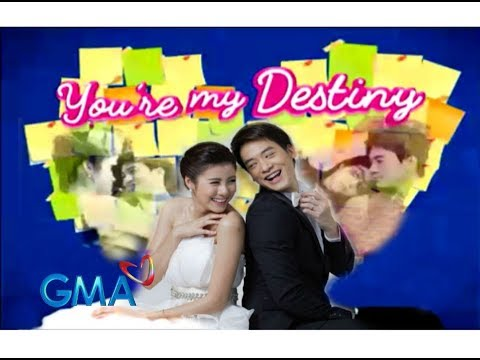 "You're My Destiny❤️ GMA-7 OST ""Because You Loved Me"" Daniel Briones (MV with lyrics)"