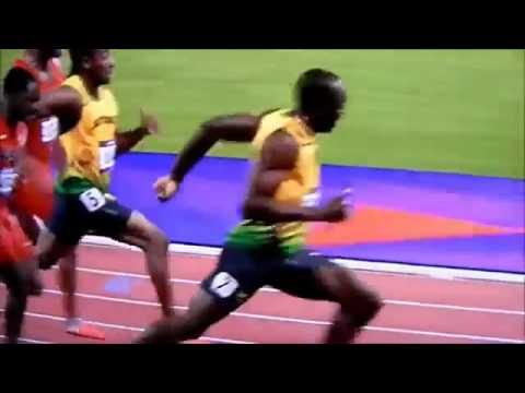 Video: London Olympics Men's 100m