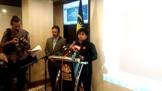 Sidang Media Task Force Jenayah Seksual Kanak-Kanak - Azalina Othman Said