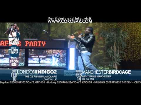 "BOVI ON ''GAY NIGERIANS"" - African Kings of Comedy - Valentine 2013 Tkts: www.cokobar.com"