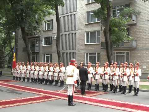 Президент Николае Тимофти принял верительные грамоты четырех послов