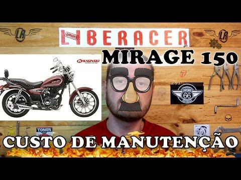 KASINSKI MIRAGE 150 CUSTO MÉDIO DE MANUTENÇÃO MENSAL E ANUAL - #13 #LIBERACER
