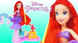 Video Disney Prensesler - Deniz Kızı Ariel Saç Yapımı   Yeni Barbie Oyuncak Videoları   Evcilik TV MP3, 3GP, MP4, WEBM, AVI, FLV November 2017