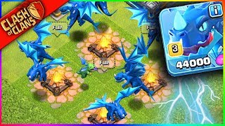"""Video THE NEW """"ELECTRO DRAGON"""" x9!!! Clash of Clans UPDATE HYPE MP3, 3GP, MP4, WEBM, AVI, FLV September 2018"""