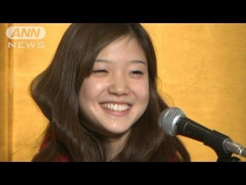 バレエ優勝の菅井円加さん会見ノーカット7/8(12/02/06)