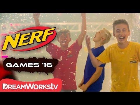 The Final Showdown!   NERF GAMES 2016