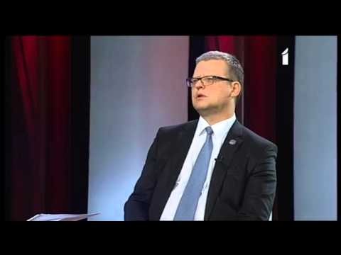 """Veselības ministra Dr. Gunta Belēviča intervija LTV1 raidījumā """"1:1"""" (1.daļa)"""