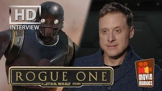 Rogue One: Alan Tudyk/K-2SO On-Set interview (2016) by Movie Maniacs