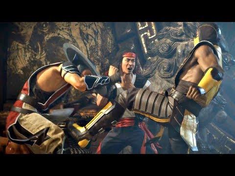 MORTAL KOMBAT 11 - Scorpion vs Liu Kang & Kung Lao Story Cutscene (MK11 2019) PS4 Pro - Thời lượng: 5 phút và 24 giây.