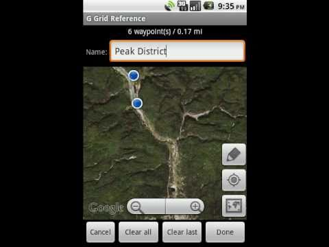 Video of GPS Grid Reference -  Full