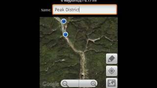 GPS Grid Reference DEMO YouTube video