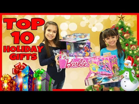 TOP 10 Toys for the Holidays 2016 - Kids Toys Christmas Wishlist - Best Holiday Presents, Gift Ideas