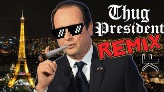 Video Les Politiciens Français Font du Rap - Thug President (REMIX POLITIQUE) MP3, 3GP, MP4, WEBM, AVI, FLV Mei 2017