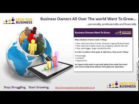 2014 Business Opportunity UK | Grow Your Business Club