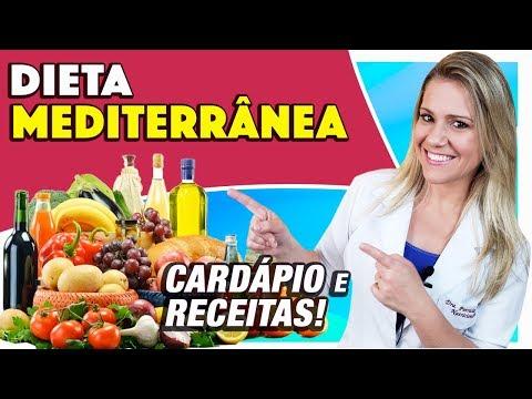 Nutricionista - Dieta Mediterrânea - Como Fazer, Alimentos Permitidos, Cardápio e Receitas [EMAGRECE?]