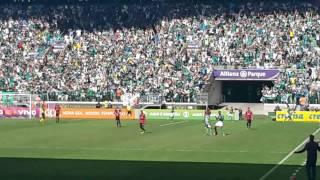 4° Gol do Palmeiras do Jogo Palmeiras 4X2 Vitória - Dudu - 16/07/2017