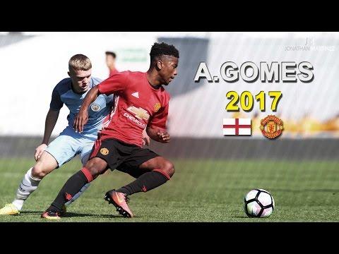 Angel Gomes ● Wonderkid | Skills, Goals & Passes 2017