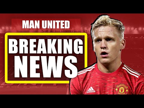 DONNY VAN DE BEEK 'MEDICAL TODAY' - Manchester United transfer News