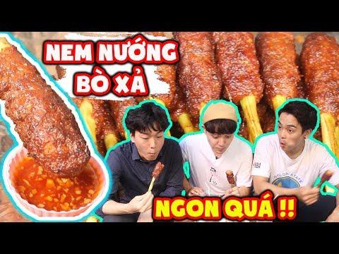 3 chàng trai Hàn Quốc đã lỡ nghiện Nem Bò Nướng Sả Việt Nam ??? - Thời lượng: 11 phút.