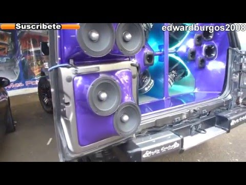 toyota land cruiser macho Tuning modificado car audio colombia rines de lujo 2012 FULL HD
