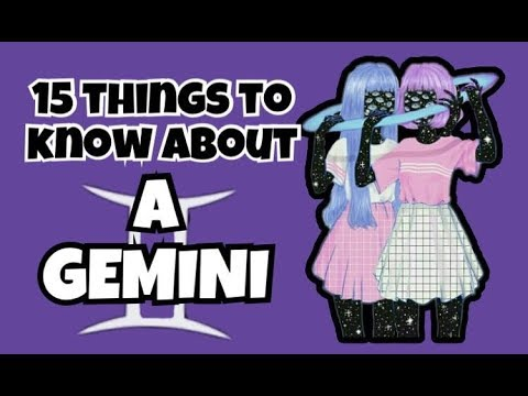 15 Things to know about a GEMINI Zodiac Sign || ZODIACMORE