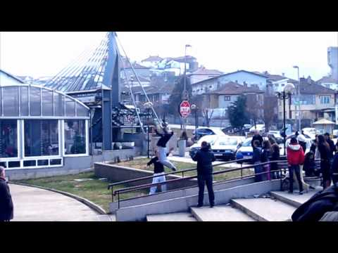 stip - Beyond Parkour Skopje first time in Stip, Macedonia. We had a great time there and we gave a few interviews for the local TV stations Iris and Star. Huge tha...