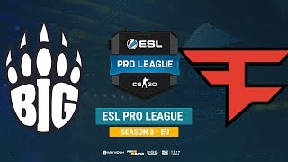 BIG vs FaZe - ESL Pro League S8 EU - bo1 - de_cache [Enkanis, ceh9]