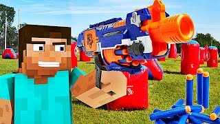 Video LES PISTOLETS NERF ARRIVENT DANS MINECRAFT ! MP3, 3GP, MP4, WEBM, AVI, FLV Juni 2017