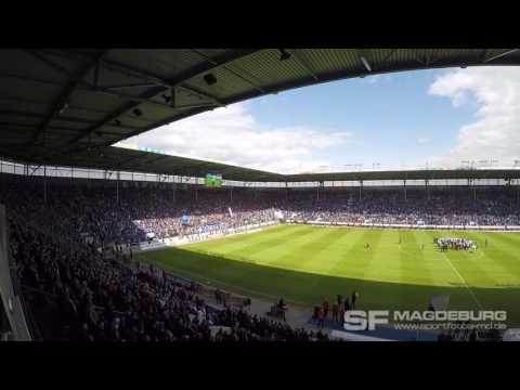 Video: 1. FC Magdeburg gegen FC Würzburger Kickers 14.05.2016 (HD Mai 2016)