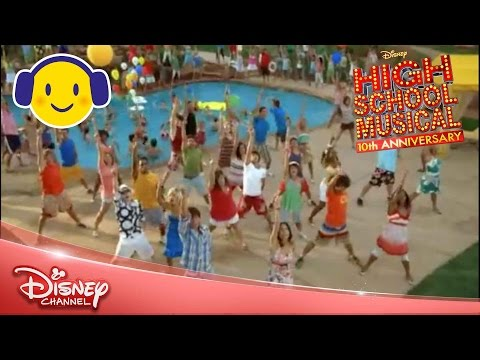hsm 4 - 'All for One' Music Video from High School Musical 2. **Where's Miley?!