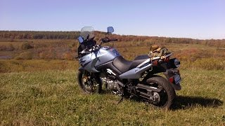 9. Suzuki 650 V-strom, A practical motorcycle & Video Overview of Projects