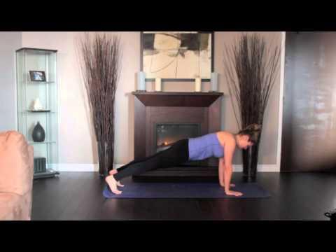 Beginner High Plank