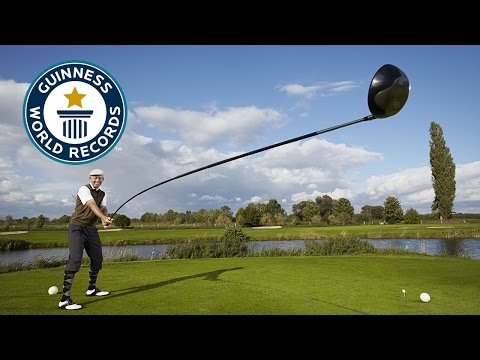 Longest usable golf club