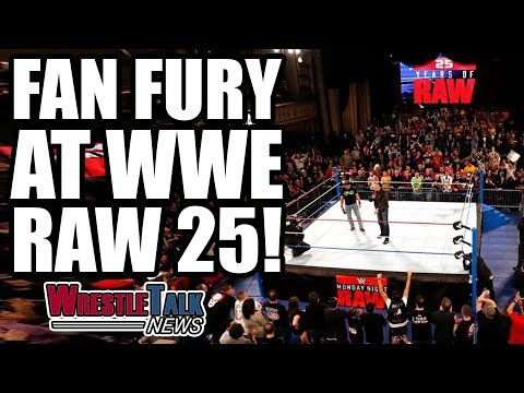 WWE Fan FURY At RAW 25! | WrestleTalk News Jan. 2018