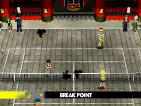 [PSX] Anna Kournikova's Smash Court Tennis Gameplay