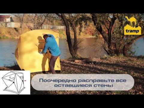 Відеодемонстрація палатки для зимової рибалки Tramp Ice Fisher