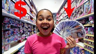 Video TIANA SPENDS £200 In 10 MINUTES! Toy Hunt Shopping Challenge MP3, 3GP, MP4, WEBM, AVI, FLV Desember 2018