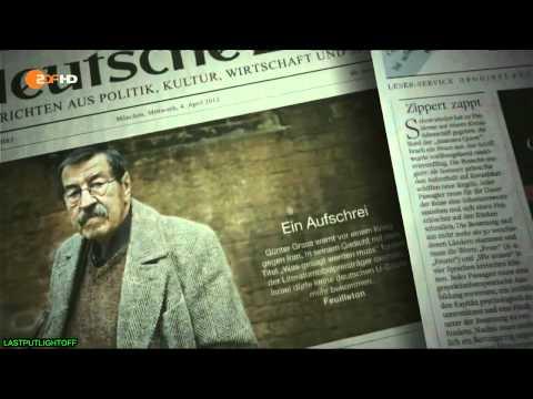 Gunter Grass - Weltweiter Wirbel um Günter Grass veröffentliches Gedicht. Ein Mann, der ausspricht, was schon lang` ein offenes