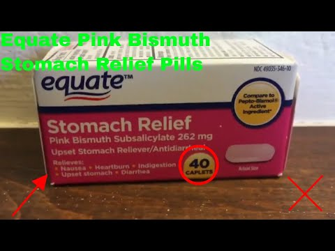 ✅  How To Use Equate Pink Bismuth Stomach Relief Pills Review