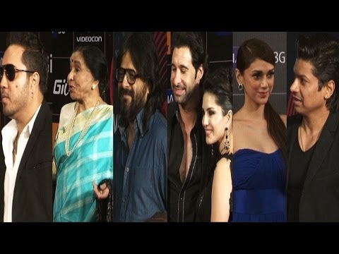 Shaan,Mika Singh,Aditi & Others On Red Carpet Of 4th GIMA Awards